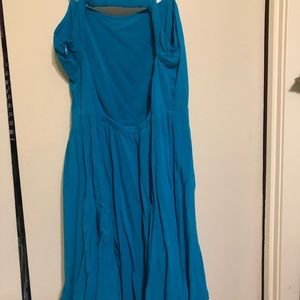 Open back mini dress